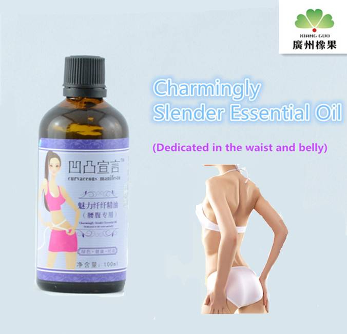 Charming Essential Oil for Slimming Waist and Belly
