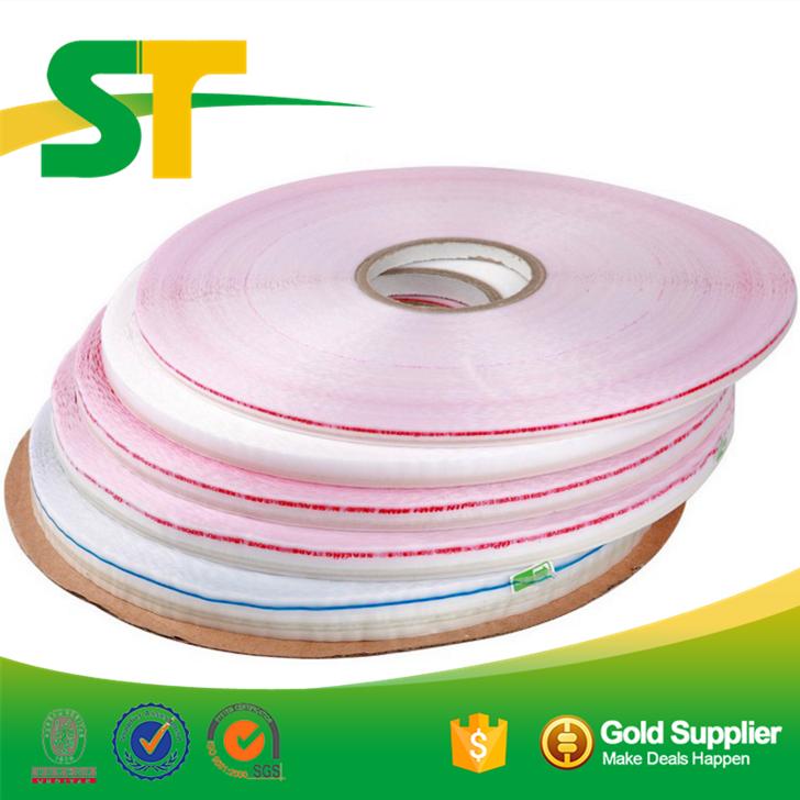Wholesale self adhesive resealable plastic bag tape