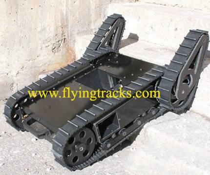 small robot rubber track/rubber caterpillar tread