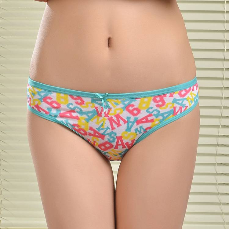 2015 New spandex laced cotton boyleg panties lady brief stretch cotton pants knickers women underwea