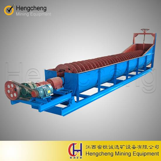 sand washing equipment ore separator spiral classifier
