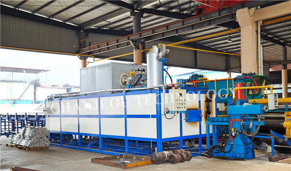 hot log shear furnace for aluminum extrusion plant