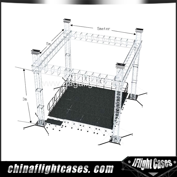 china supplier exhibition event stage truss system