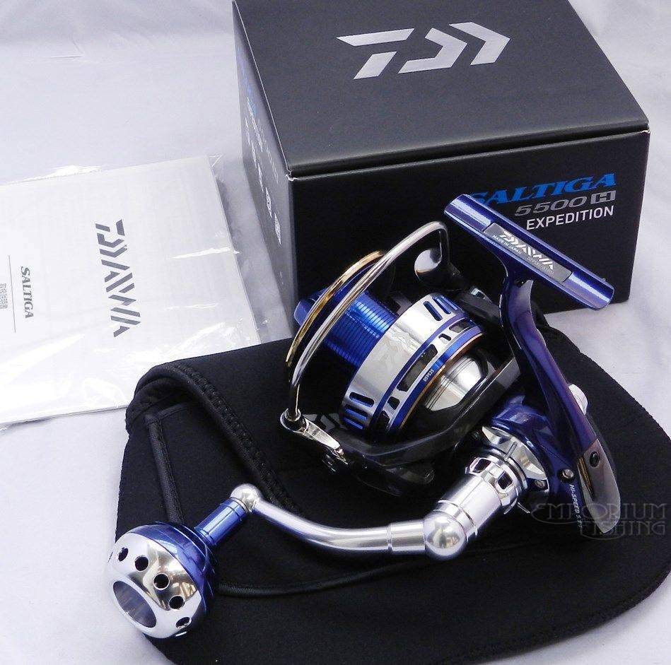 Daiwa Saltiga EXPEDITION 5500H 2014 Mag Sealed Spinning Reel