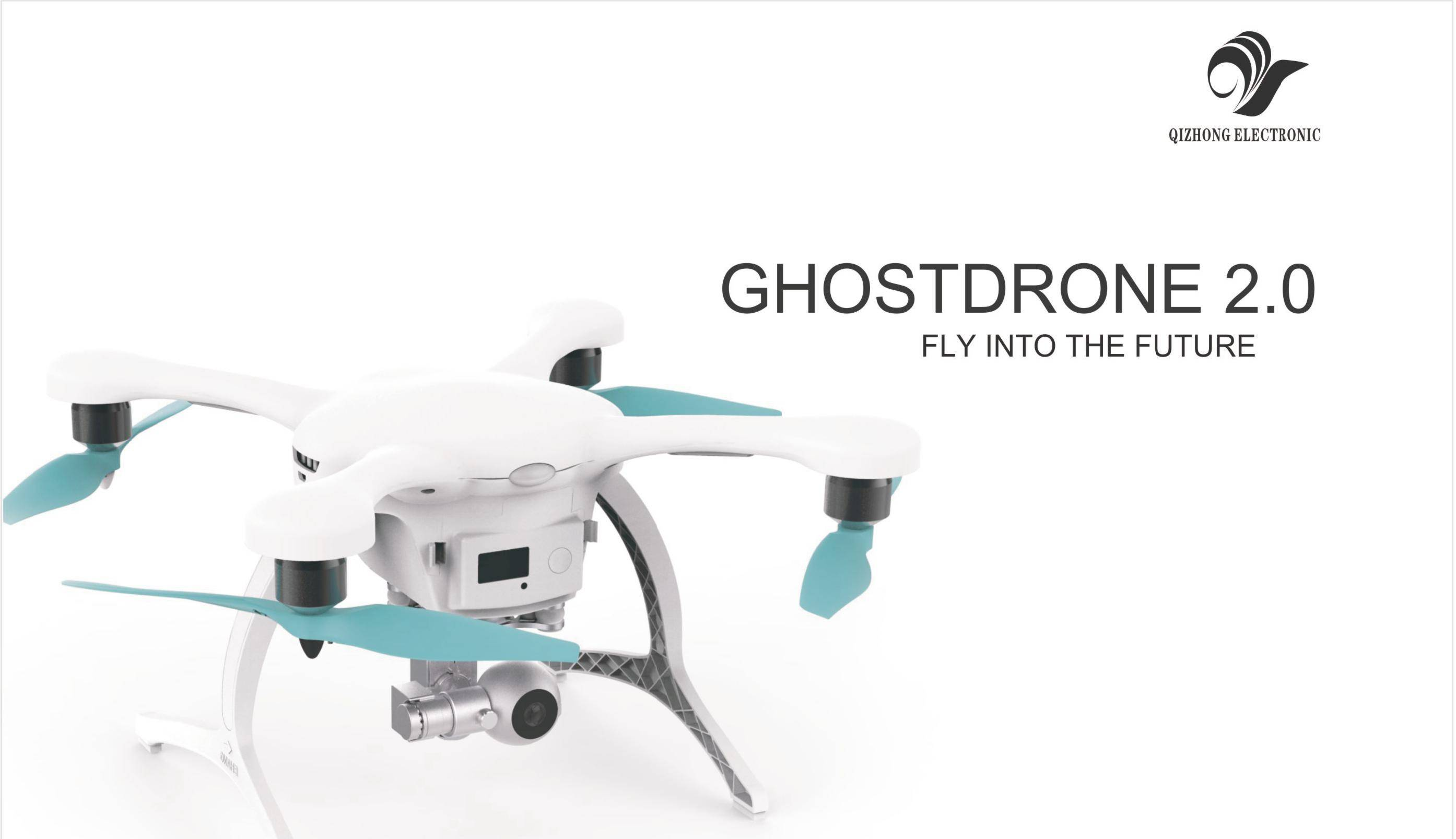 GHOSTDRONE 2.0 VR video drone with camera quadcopter fpv remote control aerial rc hobby toy uav