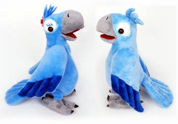 Rio Movie Blu Plush Stuffed Animals