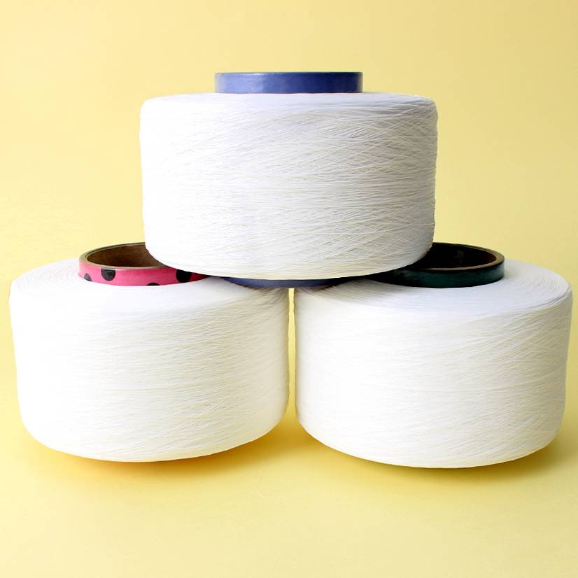 Covered Yarn Spandex with Nylon for hand knitting
