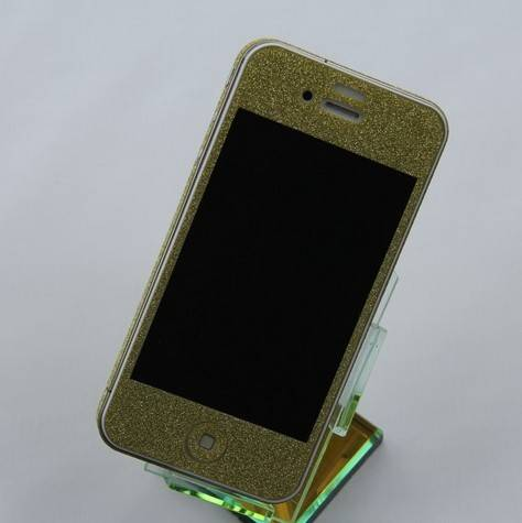 New arrival sparkle full body sticker for iphone4/iphone4s