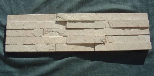 Beige sandstone pannels