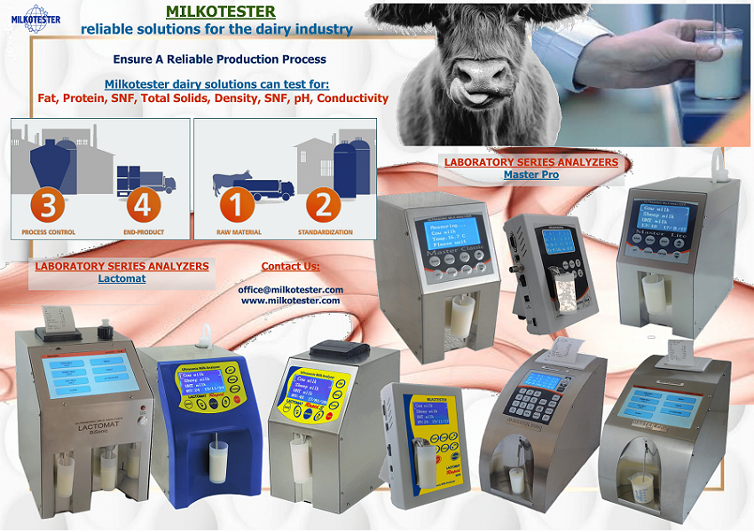 Milkotester manufacturers of analytical equipment