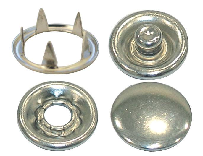 five snap prong button