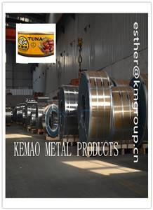 MR MATERIAL BA METHOD TIN PLATE COILS FOR CANNED TUNA