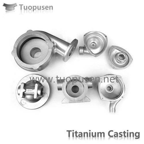 Titanium alloys Investment Castings pumps casing
