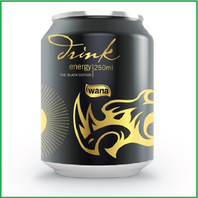 ENERGY DRINK IN 330 ML BLACK CAN