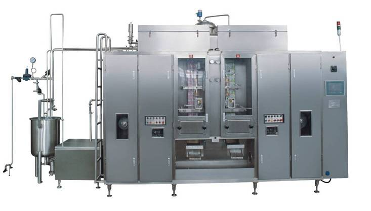 Aseptic pouch filling machine