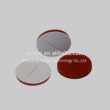 S1111 Pre-slit white PTFE red Silicone septa crimp Top Vials