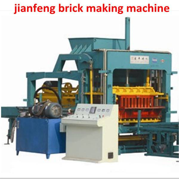 Fully  automatic block making machine for building construction