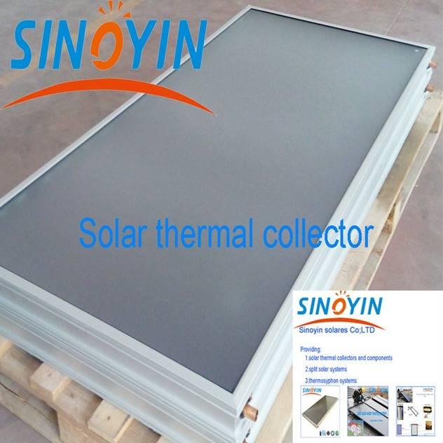 solar thermal panel of 2sqm solar key mark