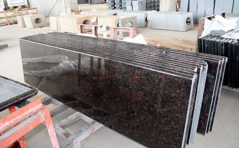 Popular Polished Tan Brown Granite Tile/Slab have Top Quality