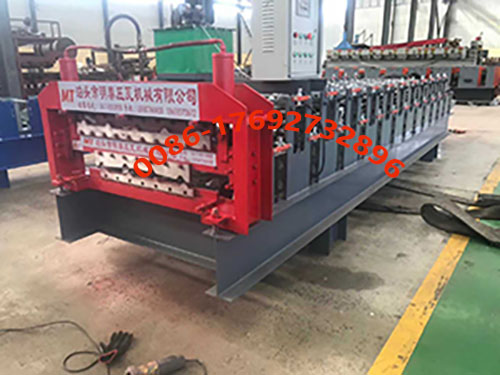 840900 Double Layer Forming Machine