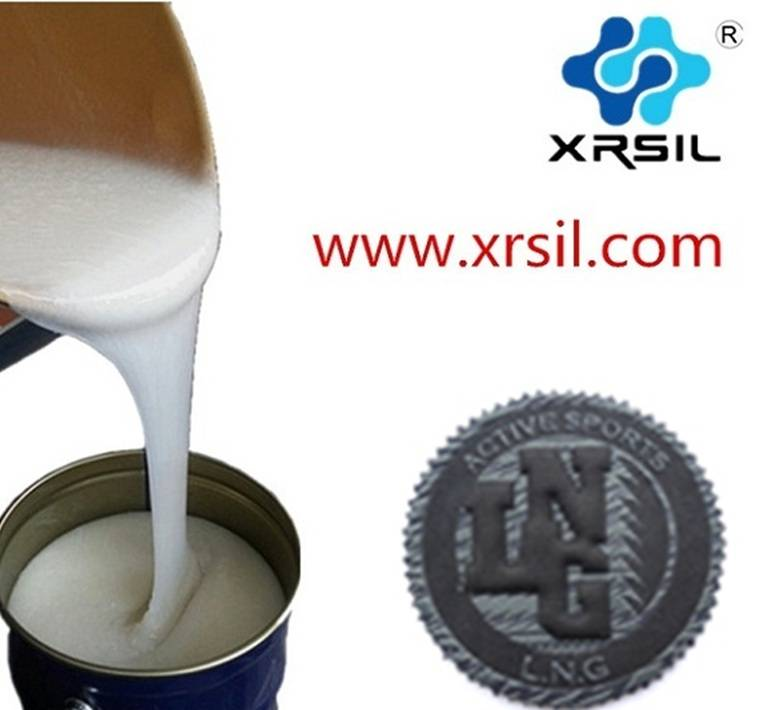 Silicone rubber for making logo sheet,XINRUN Silicone