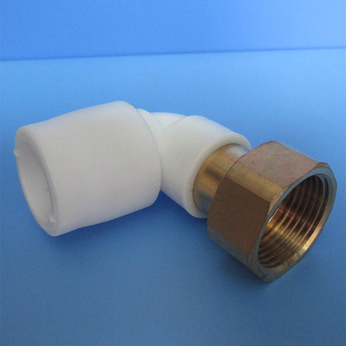 90 degree female union elbow, elbow coupling, push in fittings