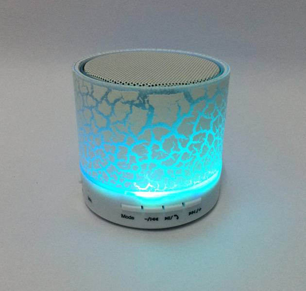 Bluetooth,TF,SD,USB,AUX speaker with led