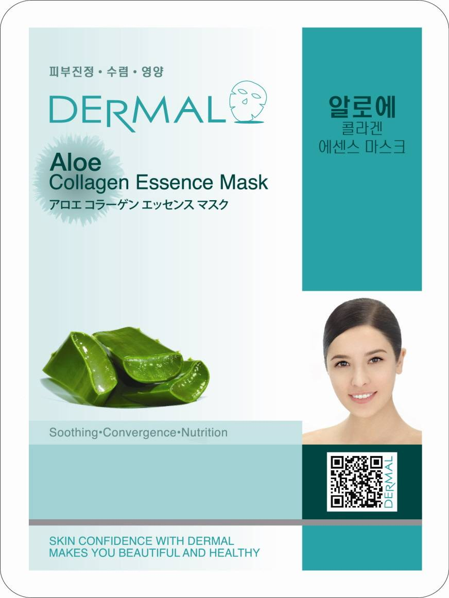 Dermal Aloe Collagen Essence Mask