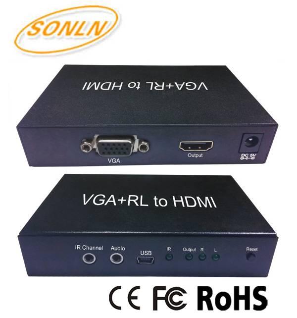 HDMI Converter VGA+RL to HDMI