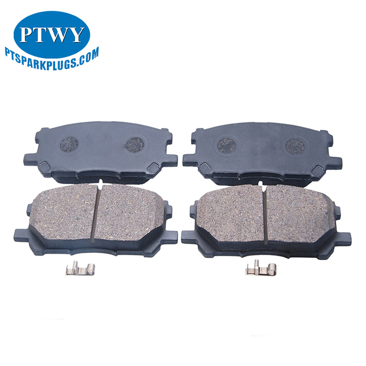 No Noise Low Wearing Ceramic Front Brake Pads For Car 04465-48150