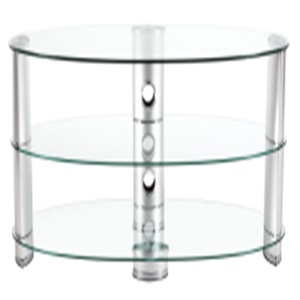 bright No.1design glass tv stand
