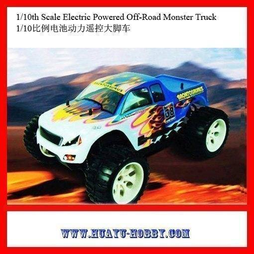 Best-selling RC Cars model Toys Brontosaurus RTR 1/10th Scale Electric Powered Off-Road Monster Truc