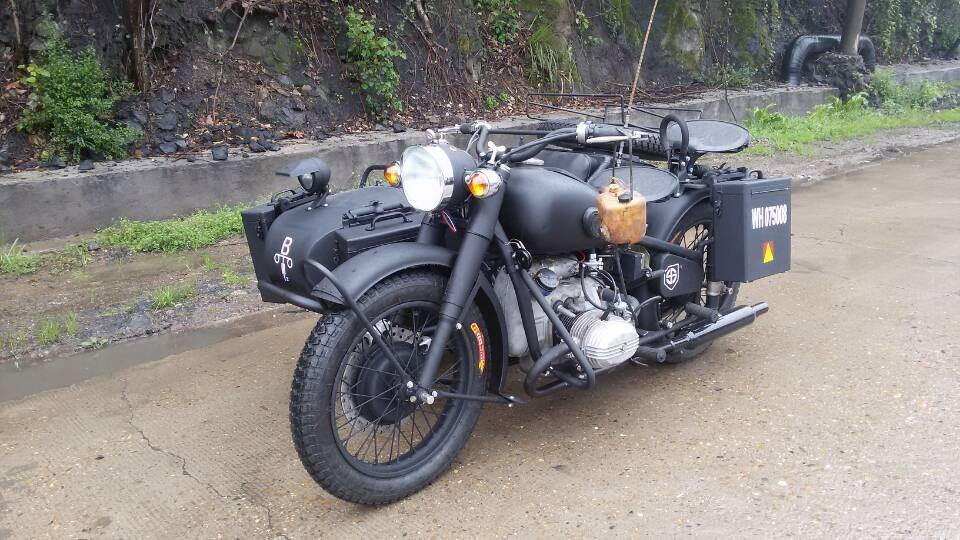 CJ 750cc Motorcycle with sidecar