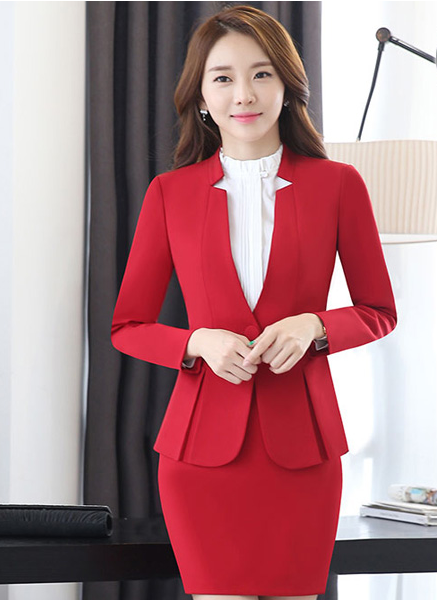 New Women Customized Suit Blazer and Trousers