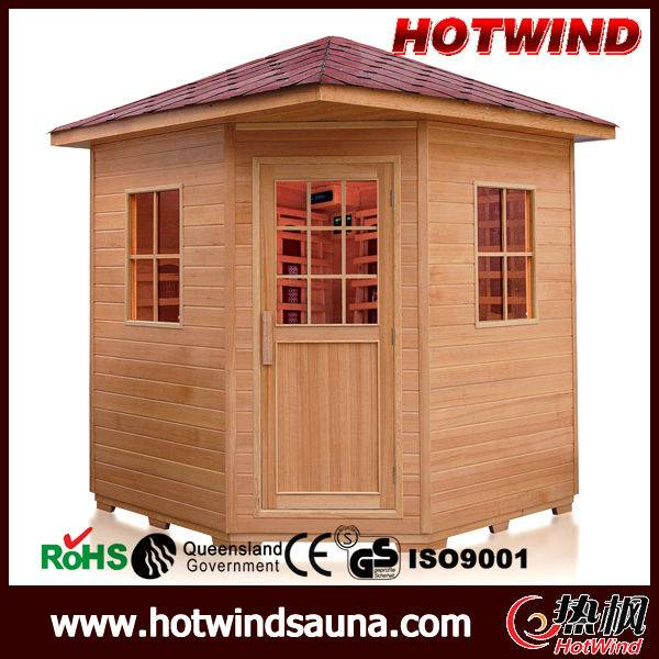 Outdoor Infrared Sauna for 5-6 person
