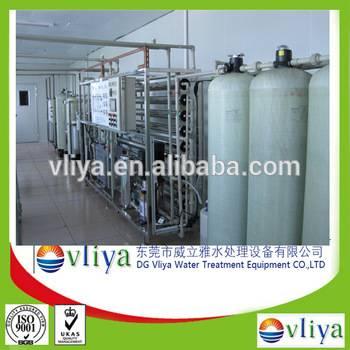 Vliya 2T/H RO plant with mixed bed deionizer water treatment machine