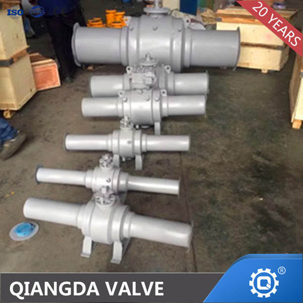 API6D FULLY WELDED TRUNNION MOUNTED BALL VALVE