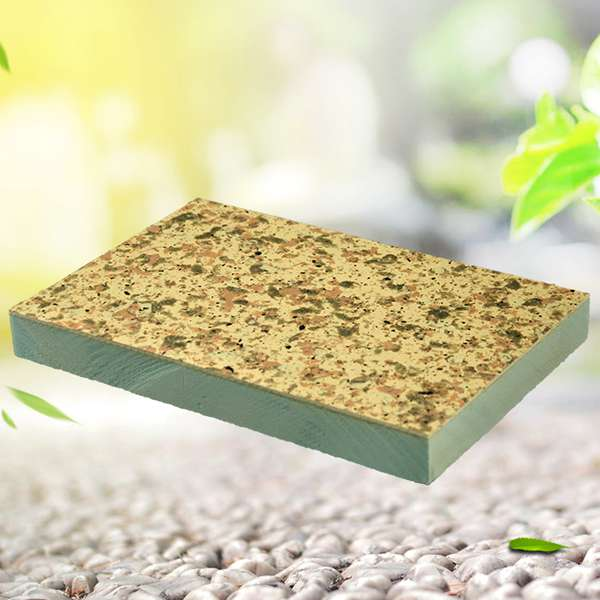 Fire insulated exterior decorative composite wall board