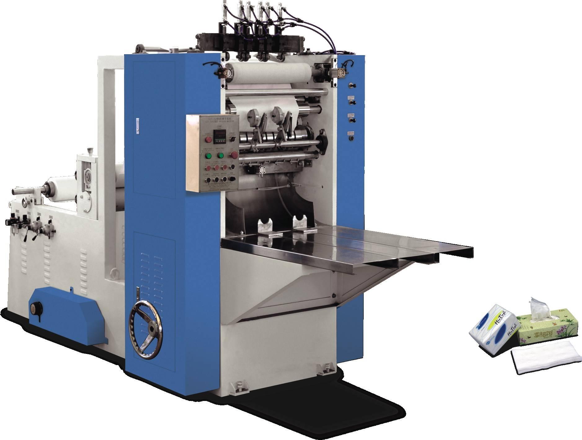 ZH-HC-V 2 lanes V fold hand towel making machine