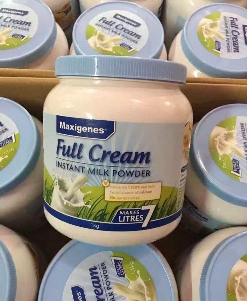 Maxigenes Full Cream Instant Milk Powder 1kg