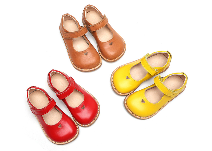 Girls School Uniform Dress Size 23-30 Mary Jane Flats Shoes For Baby