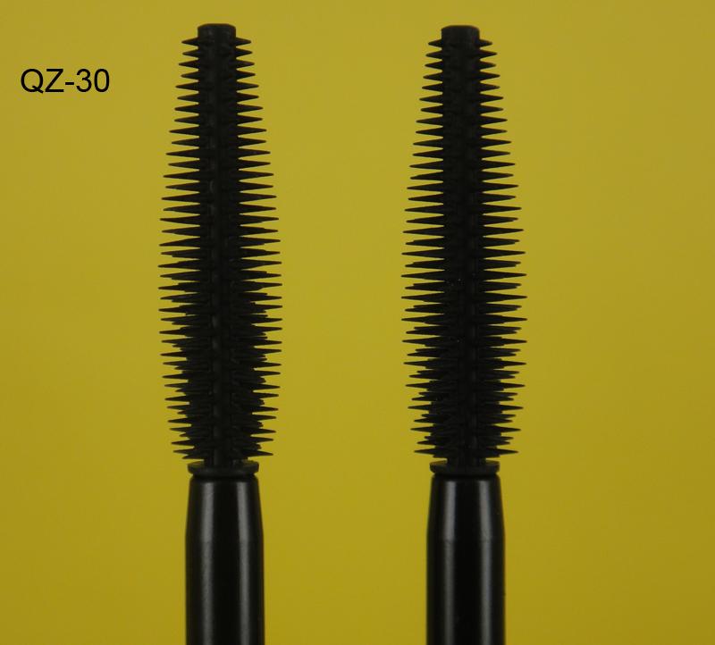 Private Label Naked Silicone Eyebrow Eyelash Mascara Brushes Cosmetic White Manufacture QZ-30