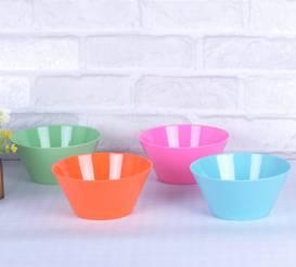 solid color melamine bowl