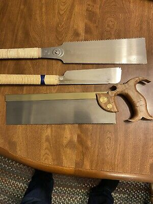 Vintage Handmade Saw with Base +14704086638