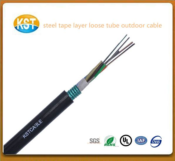 steel Tape layer Loose Tube communication  optical cable/cheap cable supplier