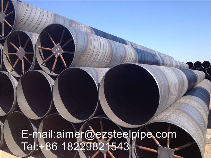 Spiral Submerged Arc Welded Water and Sewage Pipelines