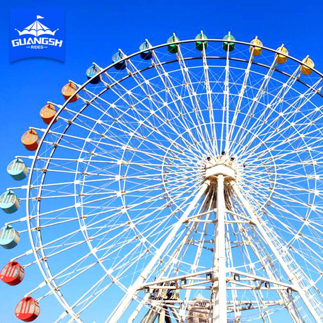 China Hot Sale Used Ferris Wheel Amusement Family Ride LED Light Wheel Ferris