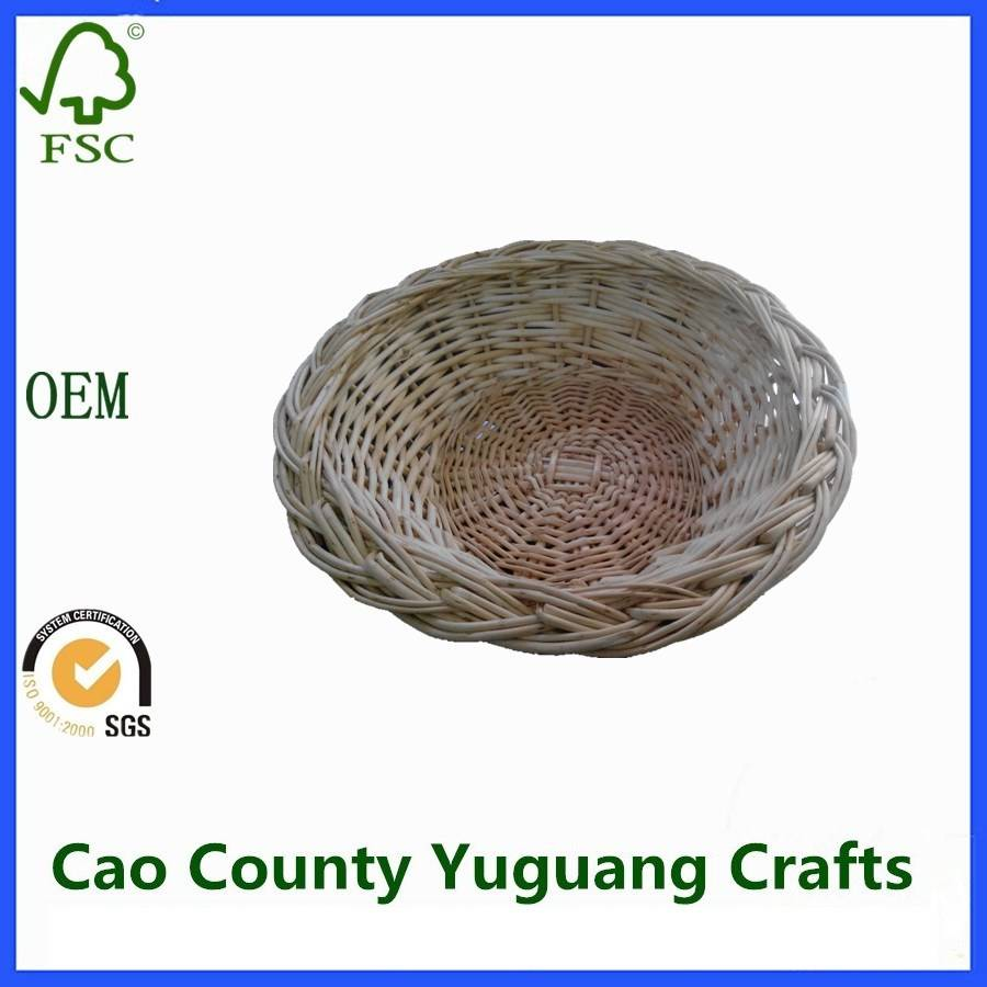 Natural Food Serving Willow Baskets