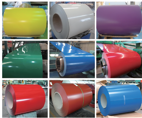 steel coil,GI, GL, PPGI, PPGL, galvanized, pre-painted steel coil