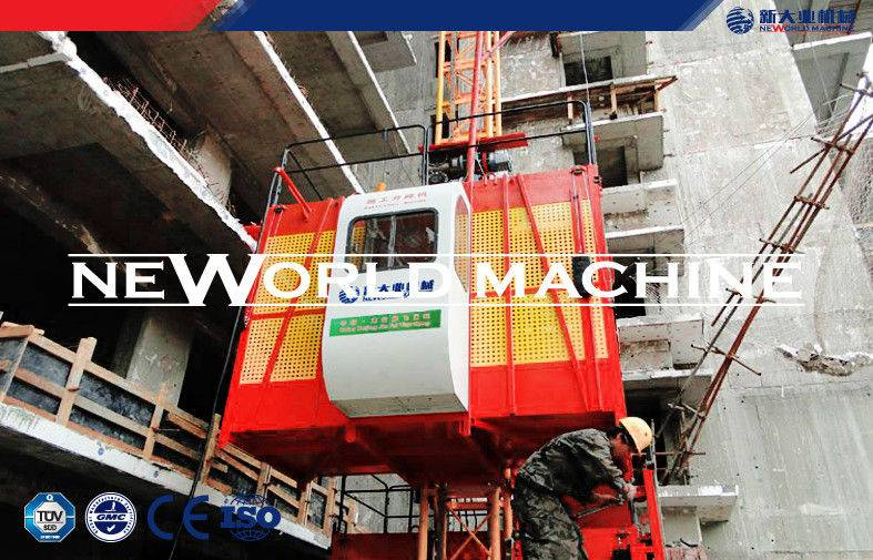 2T Single / double Cage Hoist construction building elevator